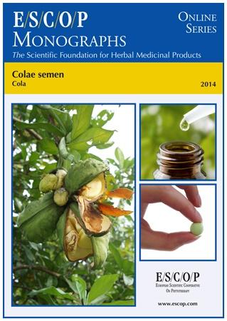 Cola ESCOP Monograph 2014