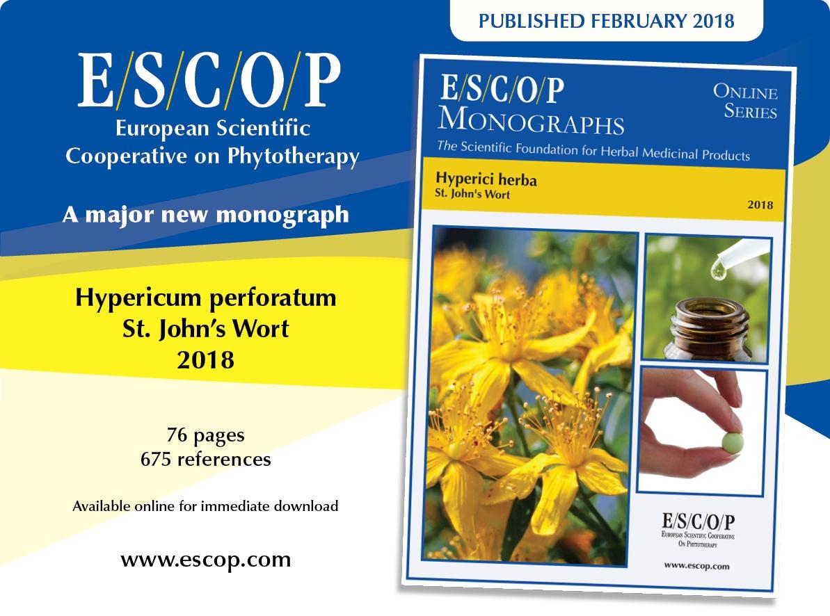 ESCOP Hypericum