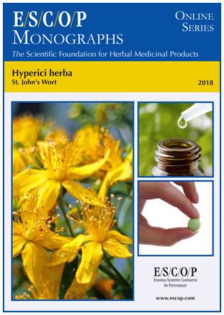 St. John\'s Wort - ESCOP Herbal Monograph -