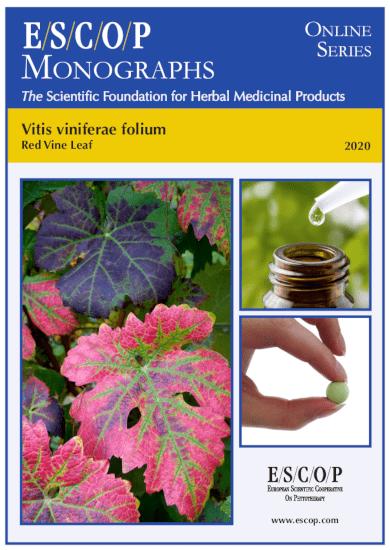 Vitis viniferae folium